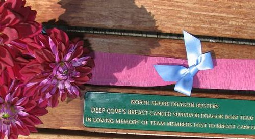 Dedication Of Dragon Busters Picnic Table